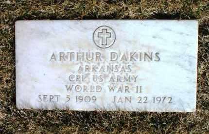 DAKINS, ARTHUR G. - Yavapai County, Arizona | ARTHUR G. DAKINS - Arizona Gravestone Photos