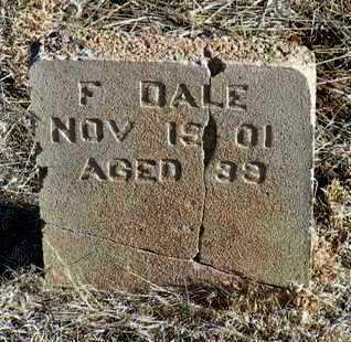 DALE, FRANKLIN (FRANKIE) - Yavapai County, Arizona   FRANKLIN (FRANKIE) DALE - Arizona Gravestone Photos