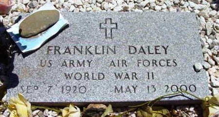 DALEY, FRANKLIN - Yavapai County, Arizona | FRANKLIN DALEY - Arizona Gravestone Photos