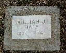 DALY, WILLIAM JOHN - Yavapai County, Arizona | WILLIAM JOHN DALY - Arizona Gravestone Photos