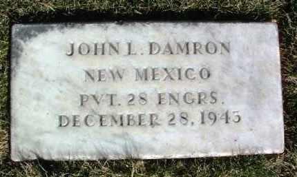 DAMRON, JOHN L. - Yavapai County, Arizona   JOHN L. DAMRON - Arizona Gravestone Photos