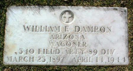 DAMRON, WILLIAM E. - Yavapai County, Arizona | WILLIAM E. DAMRON - Arizona Gravestone Photos