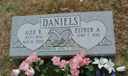 DANIELS, ALEX R. - Yavapai County, Arizona | ALEX R. DANIELS - Arizona Gravestone Photos