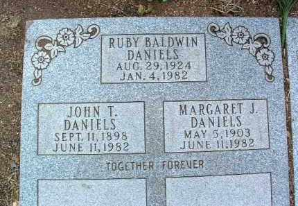 DANIELS, JOHN TILLMAN - Yavapai County, Arizona   JOHN TILLMAN DANIELS - Arizona Gravestone Photos
