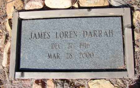 DARRAH, JAMES LOREN - Yavapai County, Arizona | JAMES LOREN DARRAH - Arizona Gravestone Photos