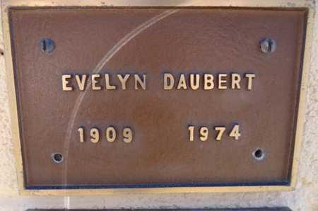 KACHLINE DAUBERT, E. - Yavapai County, Arizona | E. KACHLINE DAUBERT - Arizona Gravestone Photos