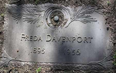 DAVENPORT, FREDA - Yavapai County, Arizona | FREDA DAVENPORT - Arizona Gravestone Photos