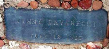 DAVENPORT, JIMMY - Yavapai County, Arizona   JIMMY DAVENPORT - Arizona Gravestone Photos