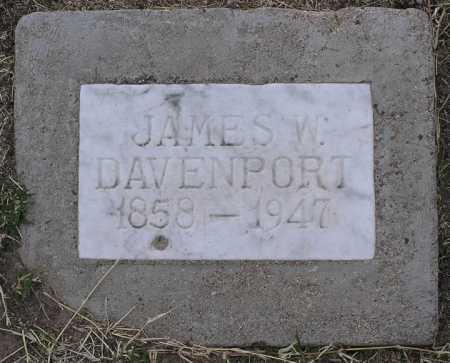 DAVENPORT, JAMES W. - Yavapai County, Arizona   JAMES W. DAVENPORT - Arizona Gravestone Photos