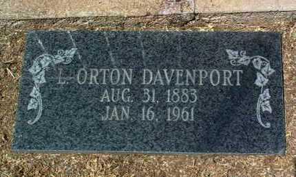 DAVENPORT, LEVI ORTON - Yavapai County, Arizona   LEVI ORTON DAVENPORT - Arizona Gravestone Photos