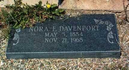DAVENPORT, NORA ELLEN - Yavapai County, Arizona   NORA ELLEN DAVENPORT - Arizona Gravestone Photos