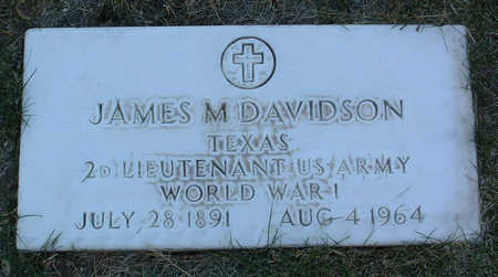 DAVIDSON, JAMES MONROE - Yavapai County, Arizona | JAMES MONROE DAVIDSON - Arizona Gravestone Photos