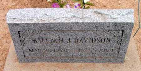 DAVIDSON, WILLIAM JACKSON - Yavapai County, Arizona   WILLIAM JACKSON DAVIDSON - Arizona Gravestone Photos