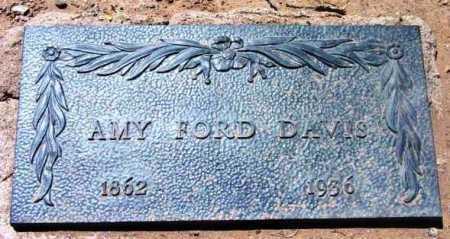 DAVIS, AMY - Yavapai County, Arizona | AMY DAVIS - Arizona Gravestone Photos