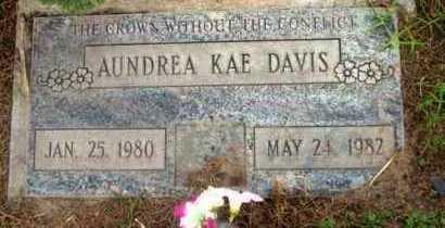 DAVIS, AUNDREA KAE - Yavapai County, Arizona | AUNDREA KAE DAVIS - Arizona Gravestone Photos