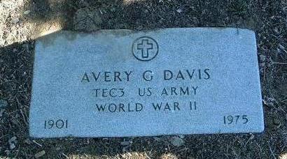 DAVIS, AVERY GIFFORD - Yavapai County, Arizona | AVERY GIFFORD DAVIS - Arizona Gravestone Photos