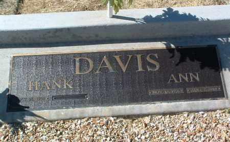 DAVIS, ANN - Yavapai County, Arizona   ANN DAVIS - Arizona Gravestone Photos