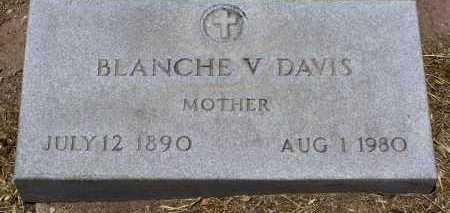 DAVIS, BLANCHE VICTORIA - Yavapai County, Arizona | BLANCHE VICTORIA DAVIS - Arizona Gravestone Photos