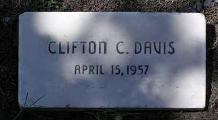 DAVIS, CLIFTON C. - Yavapai County, Arizona | CLIFTON C. DAVIS - Arizona Gravestone Photos
