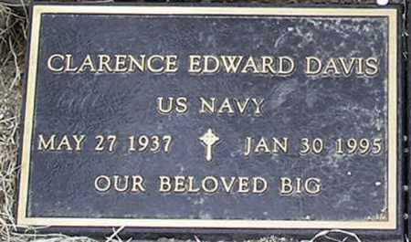 DAVIS, CLARENCE EDWARD - Yavapai County, Arizona | CLARENCE EDWARD DAVIS - Arizona Gravestone Photos