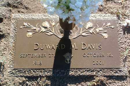 DAVIS, DUWARD MCKELLAR - Yavapai County, Arizona   DUWARD MCKELLAR DAVIS - Arizona Gravestone Photos