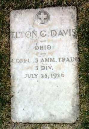 DAVIS, ELTON GAIL - Yavapai County, Arizona | ELTON GAIL DAVIS - Arizona Gravestone Photos