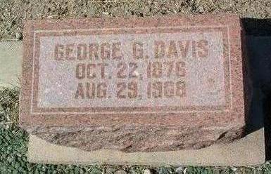 DAVIS, GEORGE GILBERT - Yavapai County, Arizona | GEORGE GILBERT DAVIS - Arizona Gravestone Photos