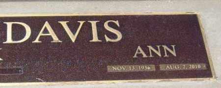 DAVIS, GEORGIA ANN - Yavapai County, Arizona   GEORGIA ANN DAVIS - Arizona Gravestone Photos