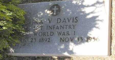 DAVIS, IRA VANCE - Yavapai County, Arizona   IRA VANCE DAVIS - Arizona Gravestone Photos
