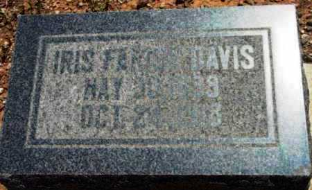 DAVIS, IRIS FERN - Yavapai County, Arizona | IRIS FERN DAVIS - Arizona Gravestone Photos