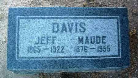 DAVIS, JEFF - Yavapai County, Arizona | JEFF DAVIS - Arizona Gravestone Photos