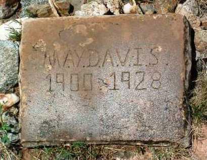 CARROLL DAVIS, MAY - Yavapai County, Arizona   MAY CARROLL DAVIS - Arizona Gravestone Photos