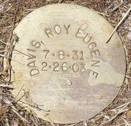 DAVIS, ROY EUGENE - Yavapai County, Arizona   ROY EUGENE DAVIS - Arizona Gravestone Photos
