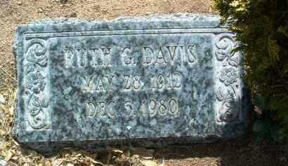 DAVIS, RUTH VIRGINIA - Yavapai County, Arizona   RUTH VIRGINIA DAVIS - Arizona Gravestone Photos