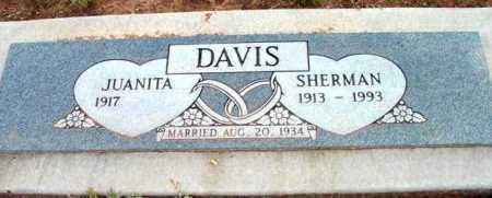 DAVIS, SHERMAN M. - Yavapai County, Arizona | SHERMAN M. DAVIS - Arizona Gravestone Photos