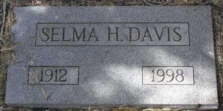 DAVIS, SELMA DOROTHEA - Yavapai County, Arizona   SELMA DOROTHEA DAVIS - Arizona Gravestone Photos