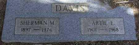 OWINGS DAVIS, ARTIE ERIE - Yavapai County, Arizona   ARTIE ERIE OWINGS DAVIS - Arizona Gravestone Photos