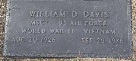 DAVIS, WILLIAM DUANE - Yavapai County, Arizona   WILLIAM DUANE DAVIS - Arizona Gravestone Photos