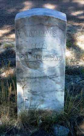 DAVIS, WASHINGTON W. - Yavapai County, Arizona   WASHINGTON W. DAVIS - Arizona Gravestone Photos