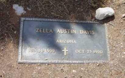 DAVIS, ZELLA - Yavapai County, Arizona   ZELLA DAVIS - Arizona Gravestone Photos