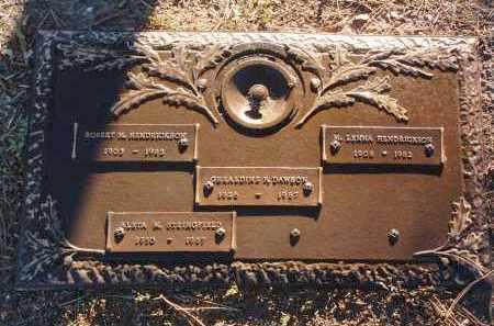 HENDRICKSON DAWSON, GERALDINE PATRICIA - Yavapai County, Arizona | GERALDINE PATRICIA HENDRICKSON DAWSON - Arizona Gravestone Photos