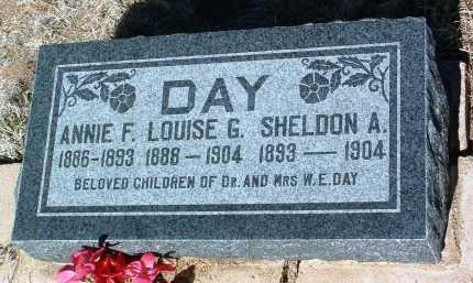 DAY, ANNIE FRANCES - Yavapai County, Arizona   ANNIE FRANCES DAY - Arizona Gravestone Photos