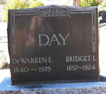 DAY, BRIDGET LARINIA - Yavapai County, Arizona   BRIDGET LARINIA DAY - Arizona Gravestone Photos