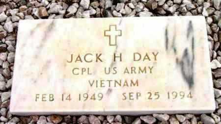 DAY, JACK H. - Yavapai County, Arizona   JACK H. DAY - Arizona Gravestone Photos