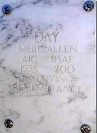 DAY, MERL ALLEN - Yavapai County, Arizona   MERL ALLEN DAY - Arizona Gravestone Photos