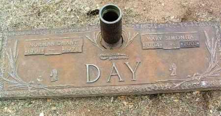 DAY, NORMAN GRANT - Yavapai County, Arizona | NORMAN GRANT DAY - Arizona Gravestone Photos