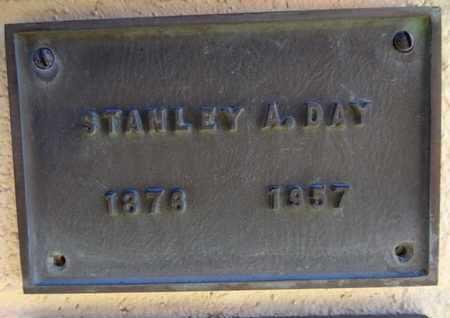 DAY, STANLEY ANDERSON - Yavapai County, Arizona   STANLEY ANDERSON DAY - Arizona Gravestone Photos