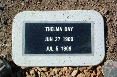 DAY, THELMA E. - Yavapai County, Arizona | THELMA E. DAY - Arizona Gravestone Photos