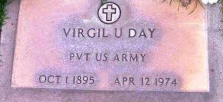 DAY, VIRGIL U. - Yavapai County, Arizona | VIRGIL U. DAY - Arizona Gravestone Photos
