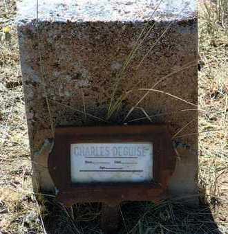 DE GUISE, CHARLES - Yavapai County, Arizona | CHARLES DE GUISE - Arizona Gravestone Photos